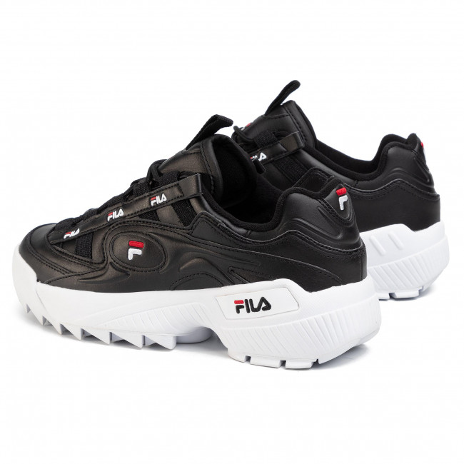 Sneakers FILA  D-Formation 1010906.13S Black/White/Fila/Red