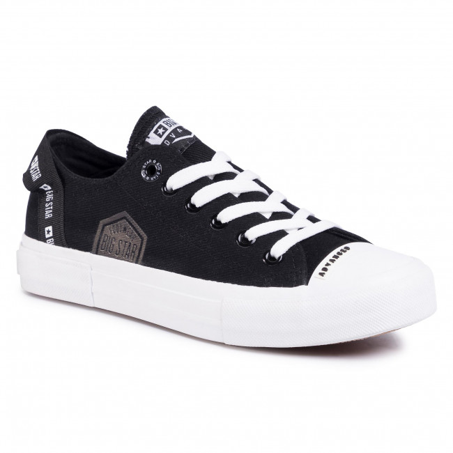 Zapatillas Big Star - Ff274209 Black Tenis Zapatos