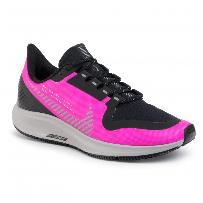Zapatos NIKE - Air Zoom Pegasus 36 Shield AQ8006 600 Fire Pink/Silver/Black