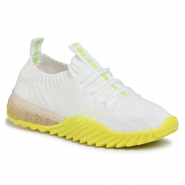 Sneakers Big Star - Ff274341 White/yellow Zapatos