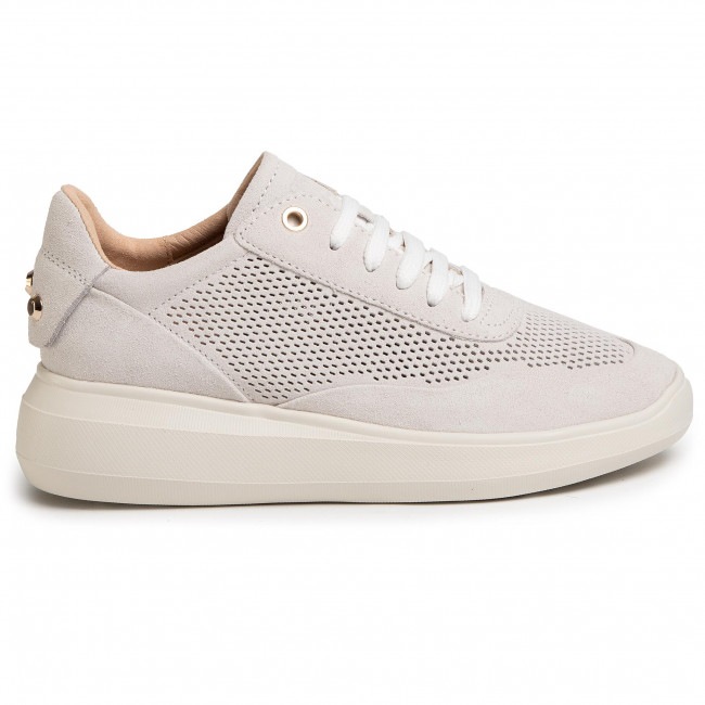 Sneakers GEOX - D Rubidia A D84APA 00022 C1002 Off White - Sneakers - Zapatos - Zapatos de mujer