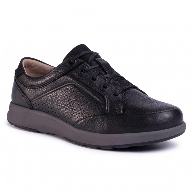 Zapatos Clarks - Un Trail Form 261466417 Black Para Diario