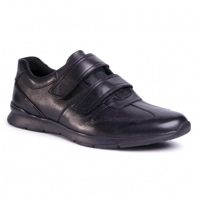 Zapatos Clarks - Un Tynamo Turn 261492317 Black Leather Para Diario