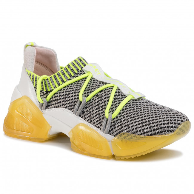 Sneakers Twinset - Running 201tcp154 Bic. Beige/giall 04852 Zapatos