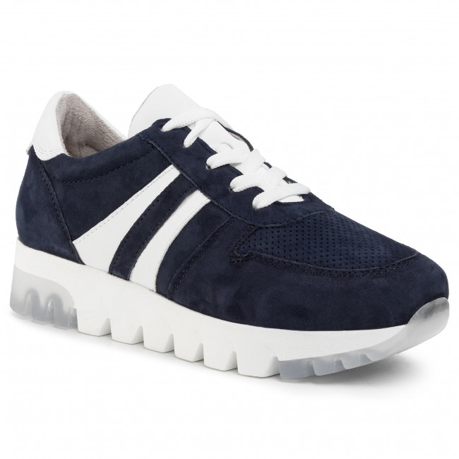 Sneakers Tamaris - 1-23749-24 Navy Suede 806 Zapatos