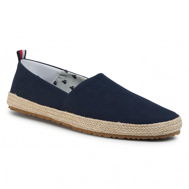 Alpargatas Tommy Hilfiger - Recycled Cotton Espadrille Fm0fm02711 Midnight Dw5