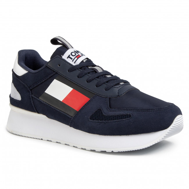 Sneakers Tommy Jeans - Lifestyle Runner Em0em00410 Twilight Navy C87