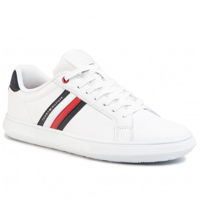 Sneakers Tommy Hilfiger - Essential Leather Cupsole Fm0fm02668 White Ybs