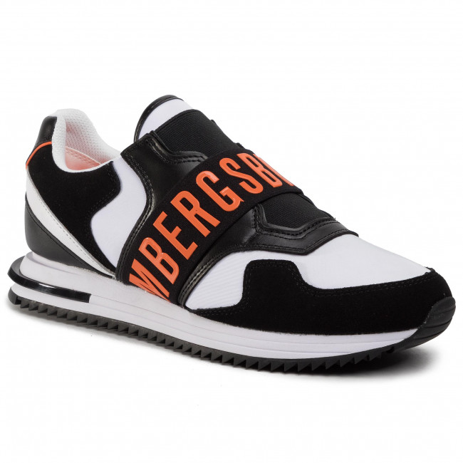 Sneakers Bikkembergs - Haled B4bkm0053 Black/white/orange