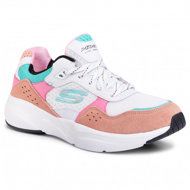 Sneakers Skechers - Charted 13019/wpkb White/pink/blue Zapatos