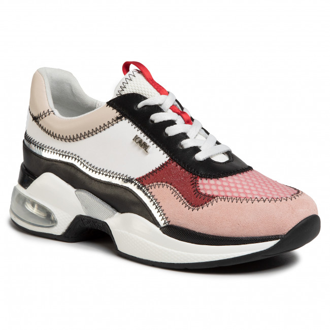 Sneakers Karl Lagerfeld - Kl61728 Pink Mix Textile Zapatos