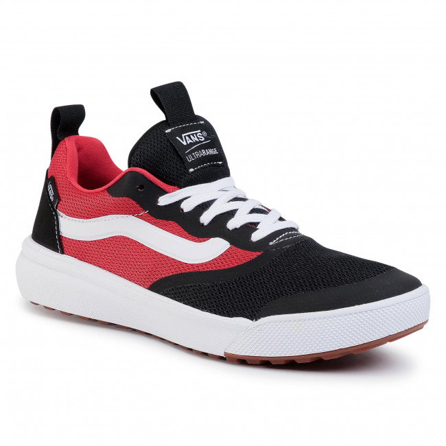 Zapatillas De Tenis Vans - Ultrarange Rapidw Vn0a3mvuxv81 (two Tone) Black/red
