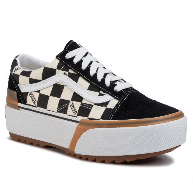 vans stacked negras