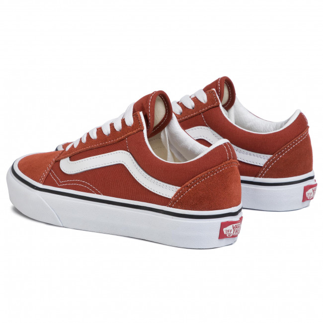 Zapatillas de tenis VANS  Old Skool VN0A4U3BWK81 Picante/True White