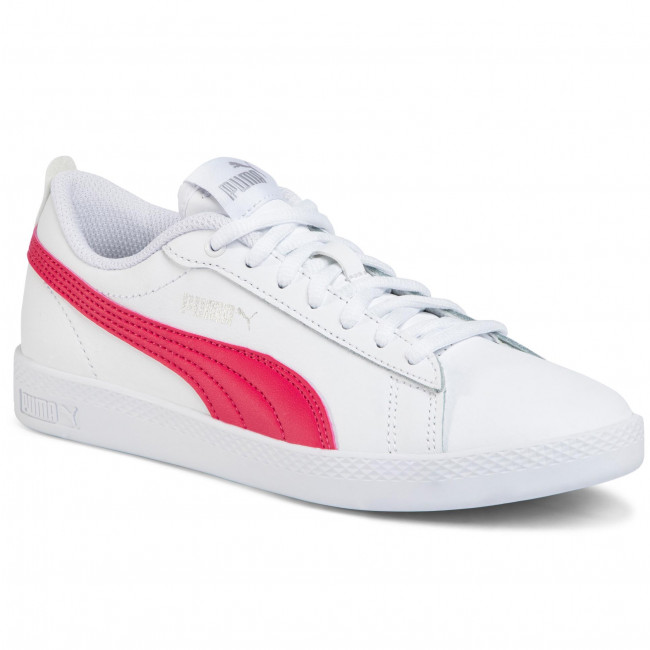 Sneakers Puma - Smash Wns V2 L 365208 18 White/bright Rose/silvr Zapatos