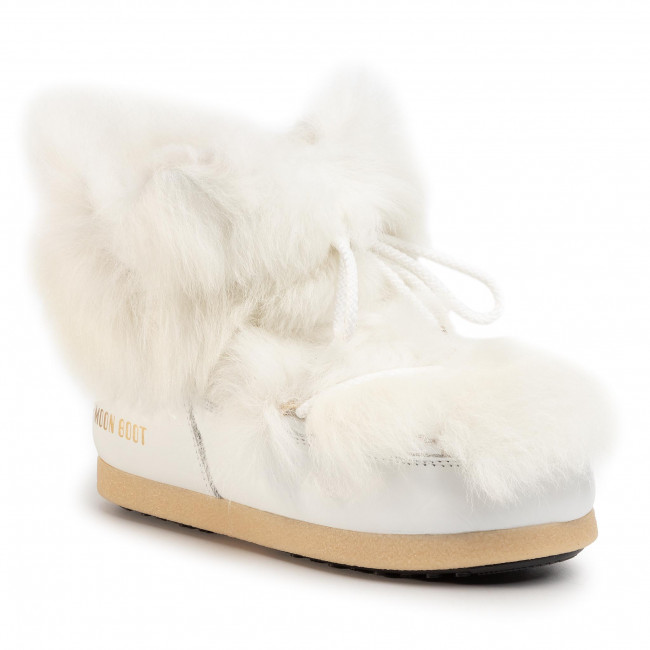 Botas De Nieve Moon Boot - Mb Far Side 50 Low Shearling 24201800001 White Y Otros