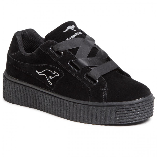 Sneakers Kangaroos - Kanpu Satin 39070 000 5001 Jet Black Zapatos