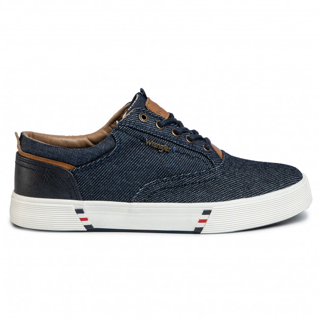 Zapatillas de tenis WRANGLER Monument Board WM01001A Blue Japan 559