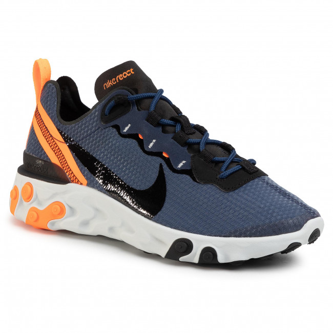 Zapatos Nike - React Element 55 Se Ci3831 400 Midnight Navy/black Sneakers