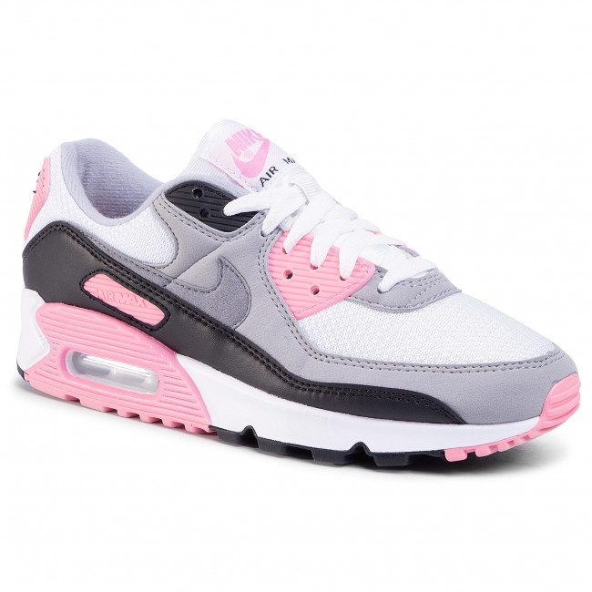 Zapatos Nike - Air Max 90 Cd0490 102 White/particle Grey/rose/black Sneakers