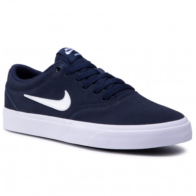 Zapatos NIKE - Sb Charge Suede (Gs) CT3112 400 Obsidian/White/Obsidian/Black