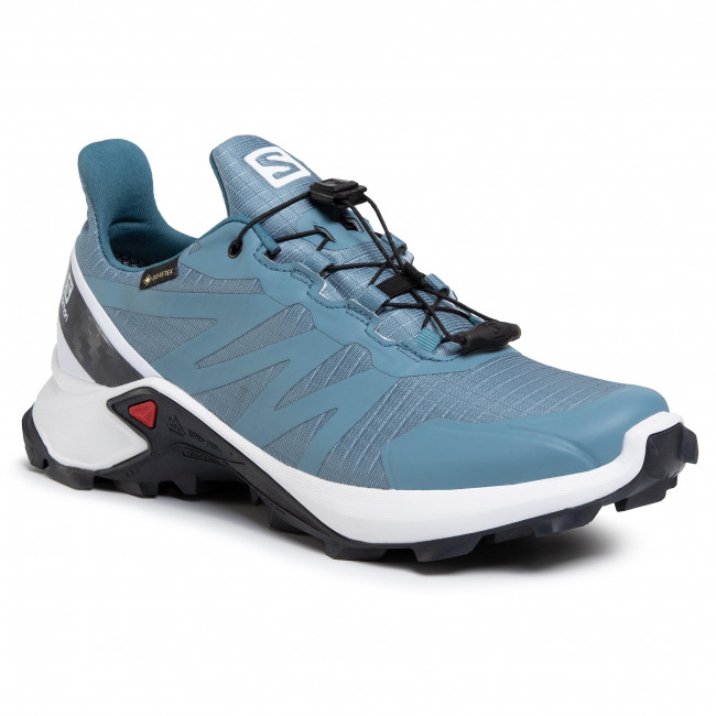 Zapatos Salomon - Supercross Gtx W Gore-tex 408095 25 V0 Bluestone/white/india Ink Outdoor Zapatillas Para Correr Deportivas