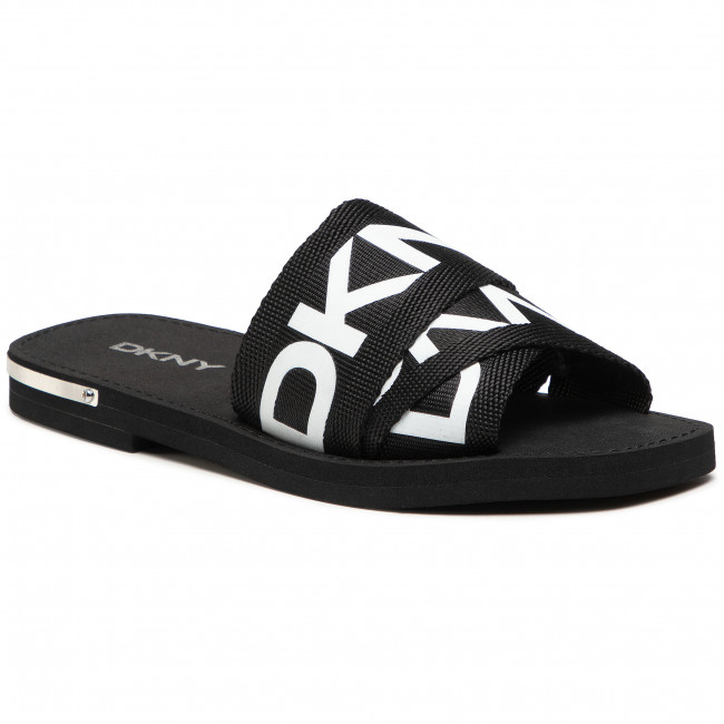 Chanclas DKNY - Isha Logo K4048316  Black/White