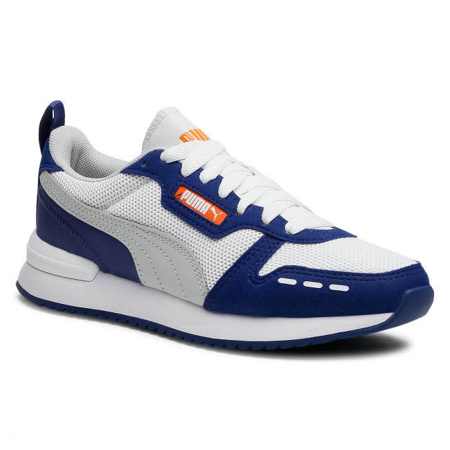 Zapatos PUMA - R78 Jr 373616 14 White/Gray/Elektro Blue