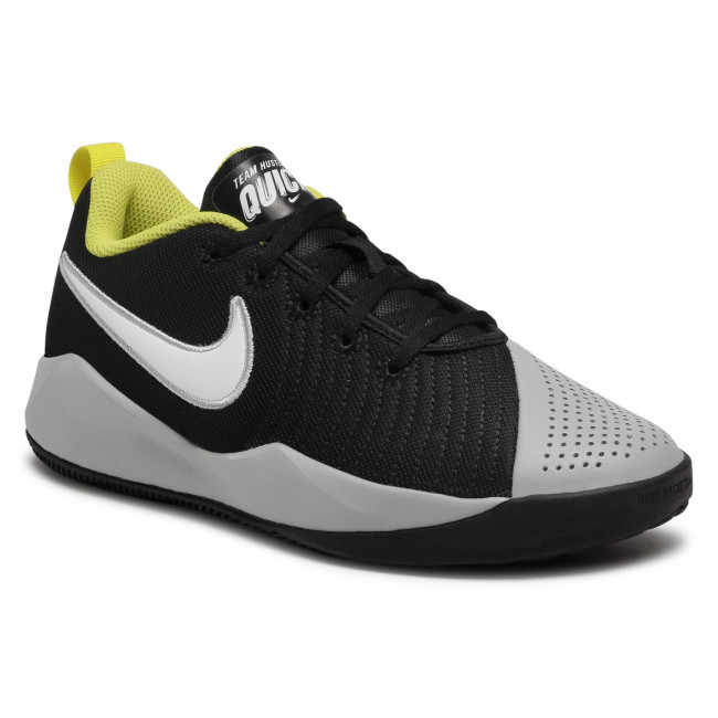 Zapatos NIKE - Team Hustle Quick 2 (Gs) AT5298 015 Black/White/Lt Smoke Grey