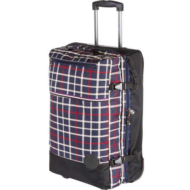 Maleta mediana blanda TOMMY HILFIGER - Newark Medium Soft Trolley 1BTWU512TFA01 Blue Check