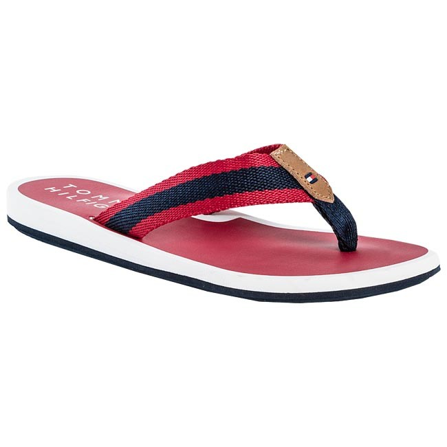 Chanclas TOMMY HILFIGER - FW56815518 Tango Red / Midnight 611