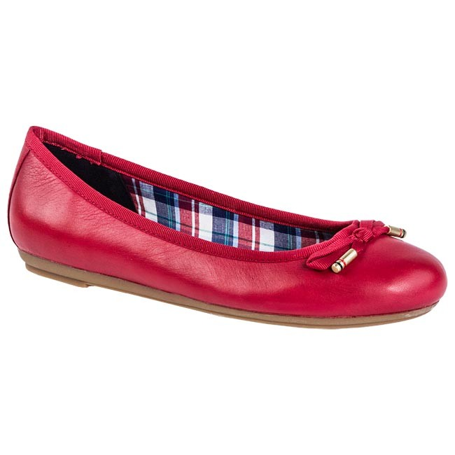 Bailarinas TOMMY HILFIGER - FW56815244 Tango Red 611