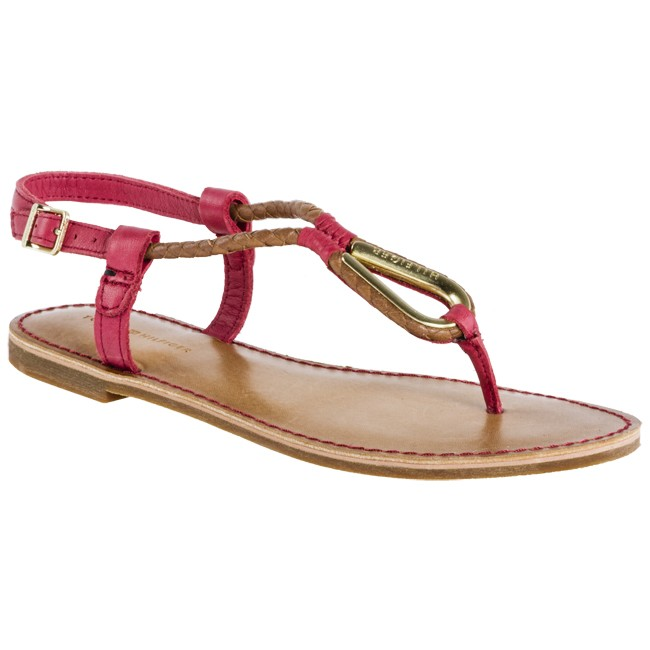 Chanclas TOMMY HILFIGER - FW56815501 Tango Red 611