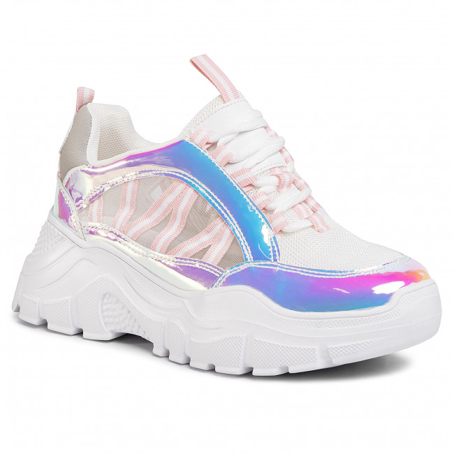 Sneakers Jenny Fairy - Wsl8528-05 Silver Zapatos
