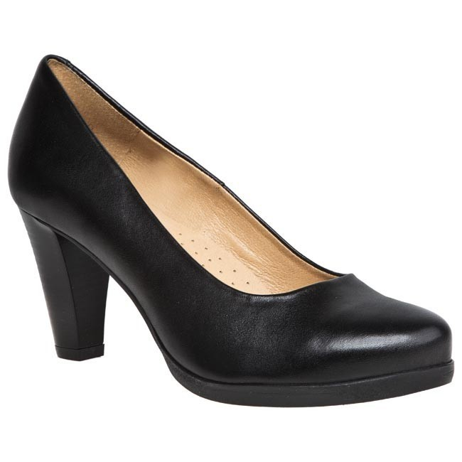 Zapatos BUT-S - T745-Z60-0G1  Negro