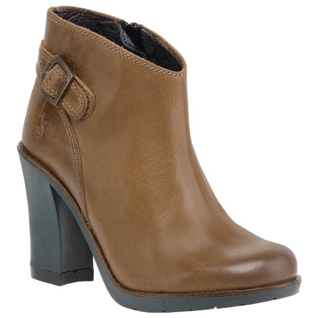 Botas FLY LONDON - Terr P142798003 Camel