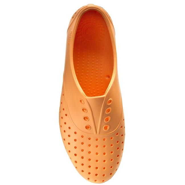 Planos Popstar shell Mujer De Tenis Zapatos Native White Jericho Orange CBWxored
