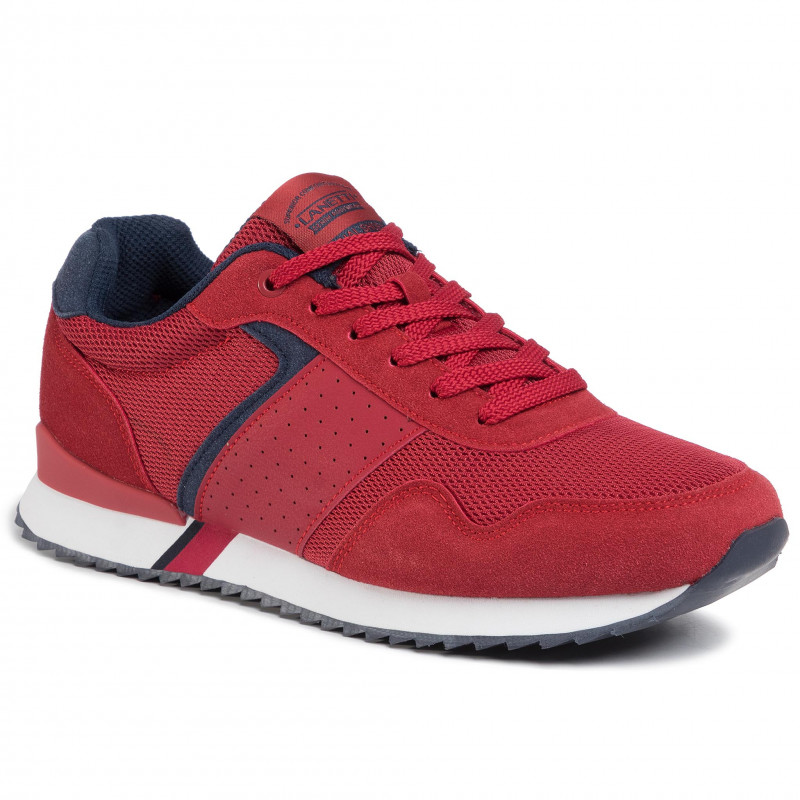 Sneakers LANETTI - MP07-91238-03 Red - Sneakers - Zapatos - de hombre