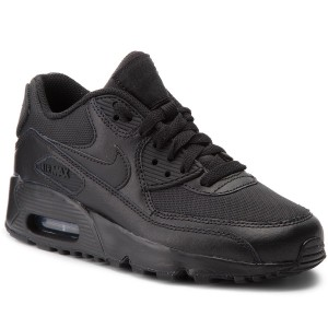 buy online 668a4 7d701 Zapatos NIKE - Air Max 90 Mesh (Gs) 833418 001 Black Black