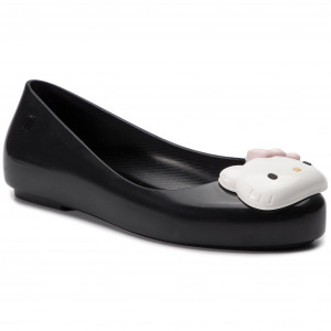 cad46cb9 Bailarinas MELISSA - Mel Space Love+Hello Kitty I 32678 Black/White 51492