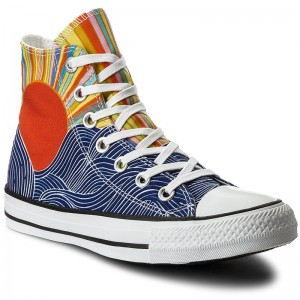 Zapatillas CONVERSE Ctas Hi 558253C Patriot BluePink