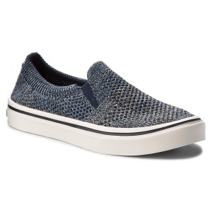 91d612c5ad Tenis TOMMY HILFIGER Knitted Light Weight Slip On FW0FW03361 Midnight 403