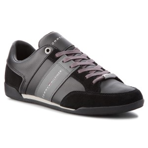 Sneakers TOMMY HILFIGER - Corporate Material M FM0FM01778 Black 990 8b45360d25