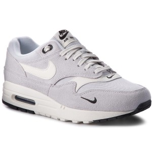7a5ee283db4 Zapatos NIKE - Air Max 1 Premium 875844 006 Pure Platinum Sail Black
