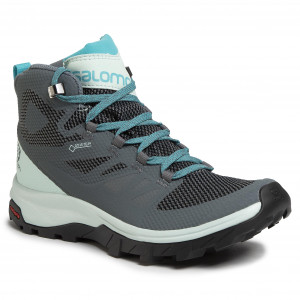 salomon outline gtx ebony bistre pearl blue jeans grupo