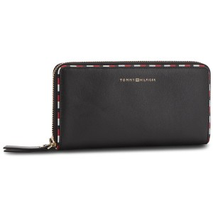 c3748eeffc4 Cartera grande para mujer TOMMY HILFIGER Classic Leather Lar AW0AW05756 002