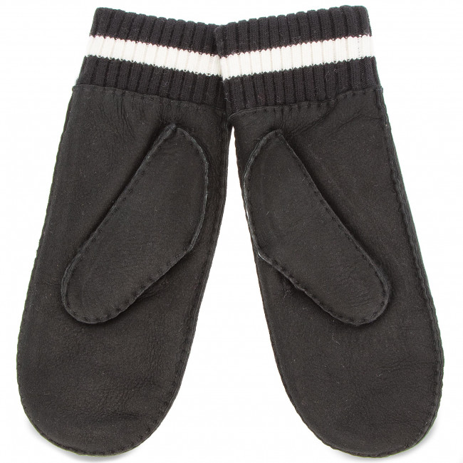 Guantes de mujer UGG W Ugglife Patch Mitten 17600 S/M Black Negro